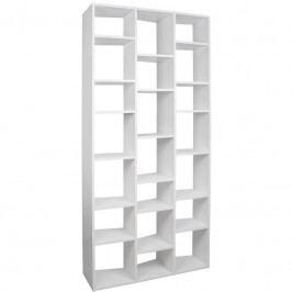 Designová knihovna Ramiro VI., matná bílá 9500.316647 Porto Deco