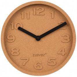 Nástěnné hodiny ZUIVER CORK TIME, korek 8500045 Zuiver