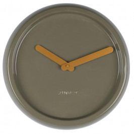 Nástěnné hodiny ZUIVER CERAMIC Ø 35 cm, zelená S8500024 Zuiver