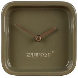 Stolní hodiny ZUIVER CUTE, zelená 8500050 Zuiver