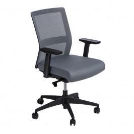 Kancelářská židle Milneo, látka, šedá 111780 CULTY