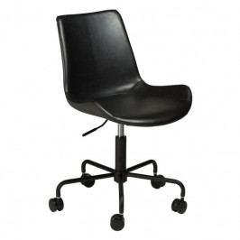 Kancelářská židle DanForm Hype, černá ekokůže 700770555 DAN FORM