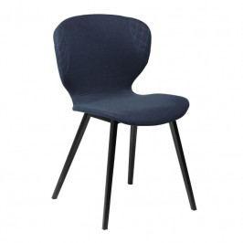 Židle DanForm Hawk, tmavě modrá látka 900801934 DAN FORM