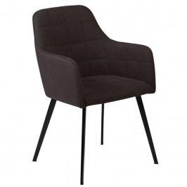 Židle DanForm Embrace, černá látka, kovová podnož 100801583 DAN FORM