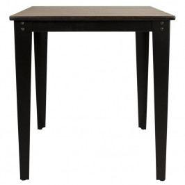 Stůl DUTCHBONE SCUOLA 70x70 cm, ořech 2100060 Dutchbone