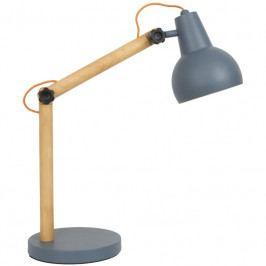 Stolní lampa ZUIVER STUDY Ø 15 cm, dub, tmavě šedá 5200013 Zuiver