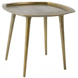 Odkládací stolek DUTCHBONE ABBAS, mosaz 2300065 Dutchbone
