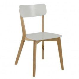 Jídelní židle Corby, bílá SCHDN0000064180 SCANDI