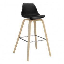Barová židle Kaira, černá SCHDN22201-1 SCANDI
