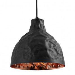 Závěsné světlo Deacon 25 cm, kov, měděná/černá Nordic:86118 Nordic