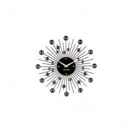 Nástěnné hodiny Espirio 30 cm, černá tfh-KA4860BK Time for home