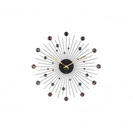 Nástěnné hodiny Espirio 50 cm, černá tfh-KA4859BK Time for home