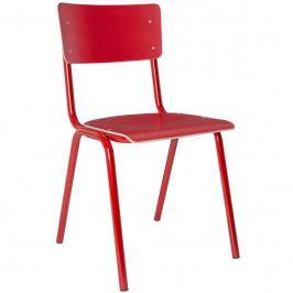Jídelní židle ZUIVER BACK TO SCHOOL, červená S1008207 Zuiver