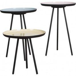 Set odkládacích stolků ZUIVER ENAMEL Ø 31 cm, více barev 2300025 Zuiver