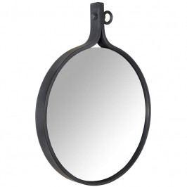 Závěsné zrcadlo DUTCHBONE ATTRACTIF Ø 40 cm, tmavě modrá 8100005 Dutchbone