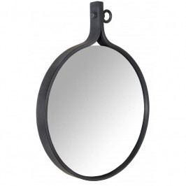 Závěsné zrcadlo DUTCHBONE ATTRACTIF Ø 58 cm, tmavě modrá 8100006 Dutchbone