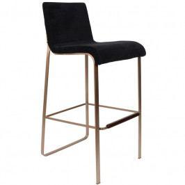 Barová židle DUTCHBONE FLOR, černá 1500242 Dutchbone