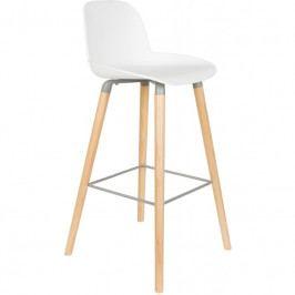 Barová židle ZUIVER ALBERT KUIP, bílá 1500057 Zuiver