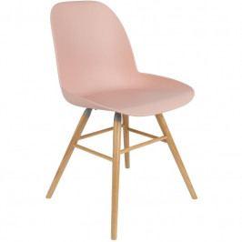 Jídelní židle ZUIVER ALBERT KUIP, růžová 1100295 Zuiver