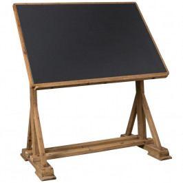 Pracovní stůl DUTCHBONE STILO, jedlové dřevo 2600002 Dutchbone