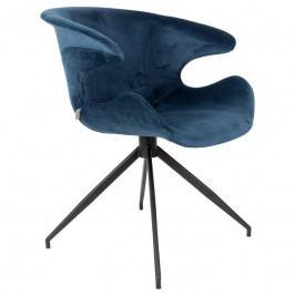 Jídelní židle ZUIVER MIA, modrá 1200151 Zuiver