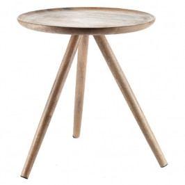Odkládací stolek Aloki L Aluro, mangové dřevo A00265 Aluro