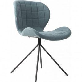 Jídelní židle ZUIVER OMG, látka, modrá 1100173 Zuiver
