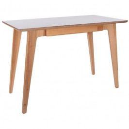 Pracovní stůl Ariko, přírodní/bílá 104920 CULTY