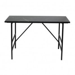 Kancelářský stůl DanForm Mood, černý mramor 400801412 DAN FORM