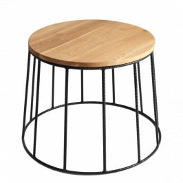 Konferenční stolek Vito, 50 cm, dub Nordic:57237 Nordic