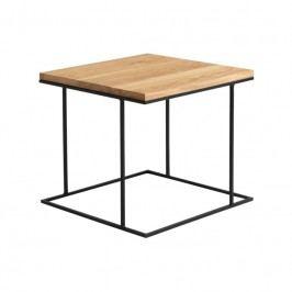 Konferenční stolek Valter 50 cm, dub/kov Nordic:57276 Nordic