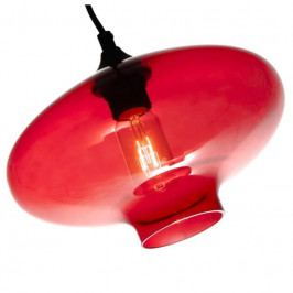 Závěsné světlo Todus nature 28 cm, červená Nordic:58136 Nordic