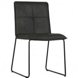 Židle Lagris, ekokůže, černá dee:373575-Z Hoorns