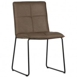 Židle Lagris, ekokůže, hnědá dee:373575-B Hoorns