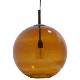 Závěsné světlo Feline 40 cm, sklo, rezavá Sdee:800721-R Hoorns +