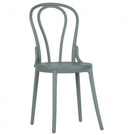 Židle Ernest, plast, zelená Sdee:378649-G Hoorns +