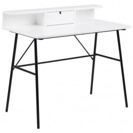 Pracovní stůl Calina 100 cm, bílá SCHDN0000072288 SCANDI