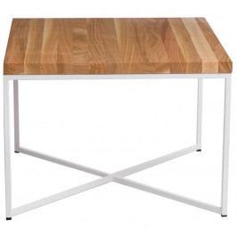 Konferenční stolek Tacros II 45x45 cm , třešeň/bílá 86113 CULTY