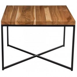 Konferenční stolek Tacros II 45x45 cm , třešeň/černá 86092 CULTY