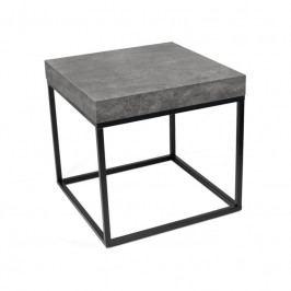 Designový odkládací stolek Calisto, beton 9500.627095 Porto Deco