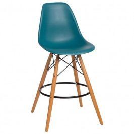 Designová barová židle DSW, ocean 84963 CULTY