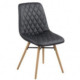 Jídelní židle Filip, černá SCHDN0000067353 SCANDI
