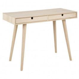 Pracovní stůl Celia, dýha, dub SCHDN0000064588 SCANDI