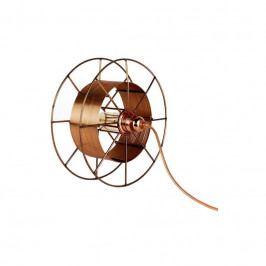 Stolní světlo Drum 30 cm, měď tfd001 Odemark