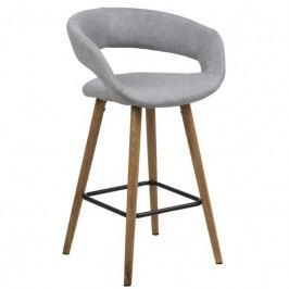 Barová židle Garry, 87 cm, světle šedá SCHDN0000066265 SCANDI
