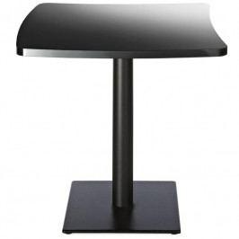 Jídelní stůl Amelie 70x70 cm, černá AD3046 Alma Design