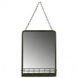 Retro nástěnné zrcadlo Geek 2, černá dee:800568-Z Hoorns