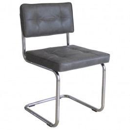 Designová židle Quick, tmavě šedá dee:350316-G Hoorns