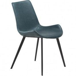 Židle DanForm Hype, petrolejová ekokůže DF100690650 DAN FORM