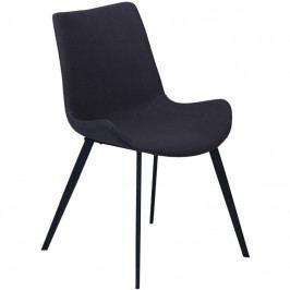 Židle DanForm Hype, antracitová látka DF100690730 DAN FORM